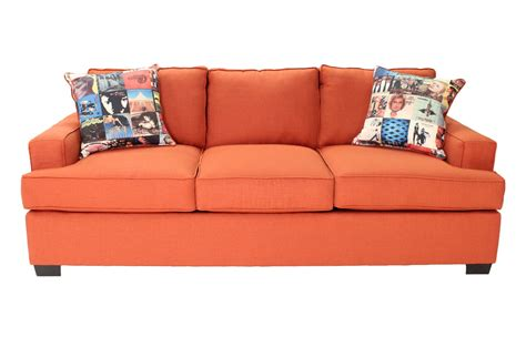 orange loveseat orange sofas orange sofas armchairs and suites ebay thesofa