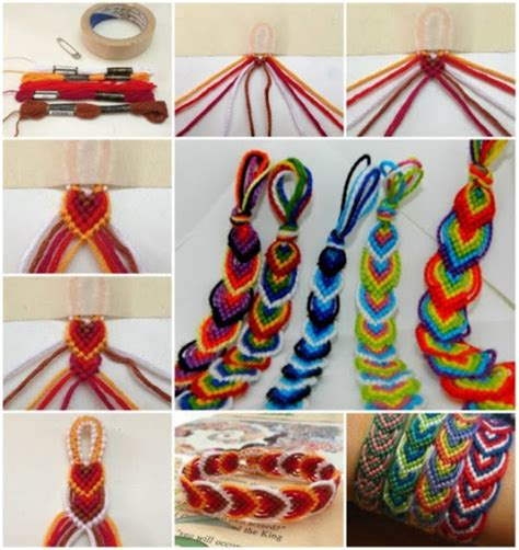 Handmade Crafts Tutorials - diy craft bracelets