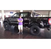 Greatest Points About Modified Black Ford Ranger Wildtrak 2014 Car