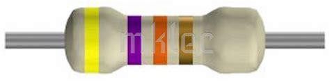 1 k resistor color code 47k ohm carbon resistors 1 4 watt 5 pack