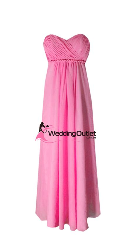 Pink Bridesmaid Dress by Fuchsia Pink Bridesmaid Dress Style D101 Weddingoutlet