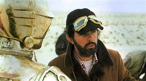 was anthony daniels in indiana jones star wars creator george lucas in adelaide the courier mail