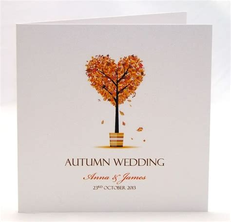 Autumn Wedding Invitations autumn wedding invitation true