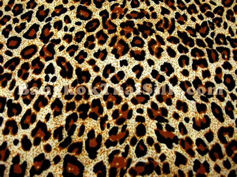 leopard fabric cheetah leopard animal print poly cotton fabric 44 quot w