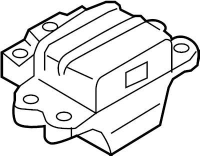 3c0199555ae audi auto trans mount. manual trans mount