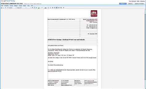 Lebenslauf Vorlagen Docs Docs Musterbrief Vorlage F 252 R Text Tabellen