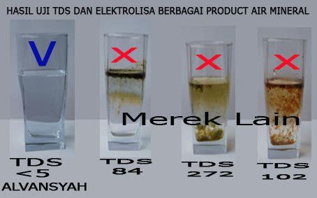 Jual Alat Tes Air Layak Minum air minum murni osmosis oksigen alvansyah
