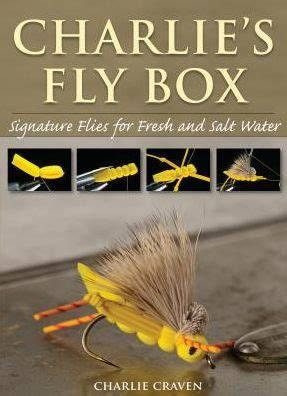 libro the mystery of craven charlie s fly box signature flies for fresh and salt water by charlie craven paperback