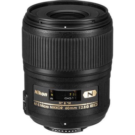 Nikon Af S 60mm F 2 8g Ed Micro nikon af s micro nikkor 60mm f 2 8g ed lens 2177 b h photo