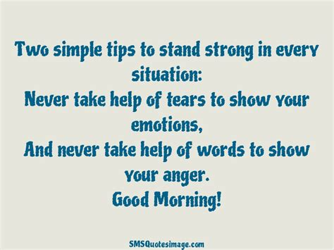 10 effective tips for stand two simple tips to stand strong morning sms