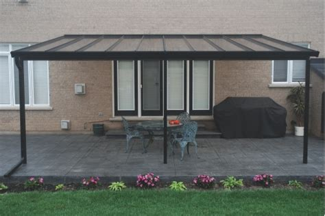 permanent deck awnings aluminum patio awnings give you more to enjoy from your patio