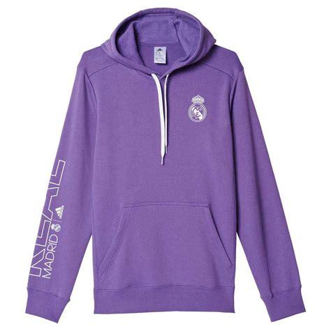 Adidas Real adidas real madrid co hoodie purple white