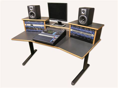 How To Recording Studio Desk With Speakers Http Recording Studio Computer Desk