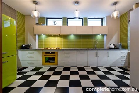 funky kitchens a fun and fresh kitchen completehome