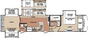 Fifth Wheel Bunkhouse Floor Plans Fifth Wheel Floor Plans Bunkhouse Submited Images