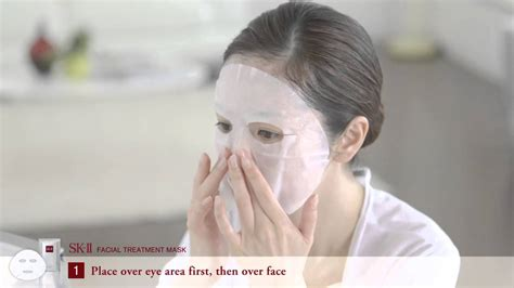 Sk2 3d Mask sk ii treatment mask how to use sephora