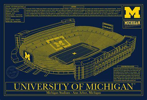 u of m colors michigan michigan stadium in school colors stadium