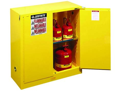 Flammable Storage Cabinet Flammable Storage Cabinet Self Closing Doors 30 Gallons Cb893020jr Usasafety
