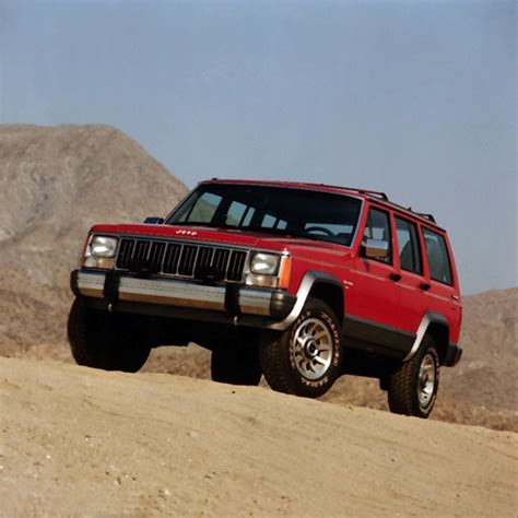 Jeep Xj History A History Of The Jeep 174 Xj 1984 01 The Jeep