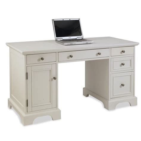 bowery hill computer desk bowery hill computer desk in white bh 427249