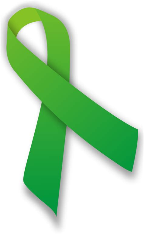 mental health awareness month color file green ribbon svg wikimedia commons