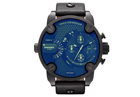 Diesel Dz7257 Black diesel dz7257 black chronograph blue glass s wrist