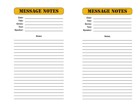 sermon notes template bible study outline template