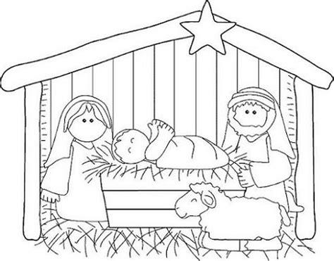 dibujos navideños para colorear portal belen dibujos del portal de bel 233 n para imprimir gratis