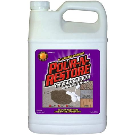 pour  restore  gal oil stain remover pnrgl  home