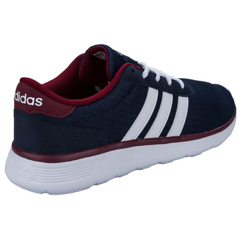 Adidas Racer Neo mens adidas neo lite racer trainers in grey from get the label