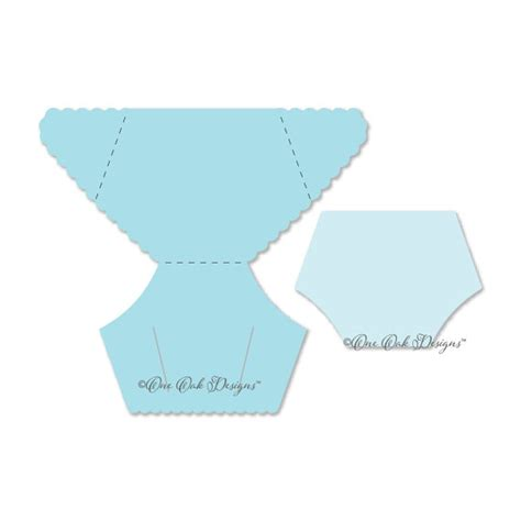 diaper card template svg file pdf dxf jpg png eps ai