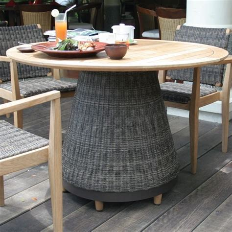 wicker outdoor dining furniture teak and wicker outdoor dining furniture table contemporary patio furniture and outdoor