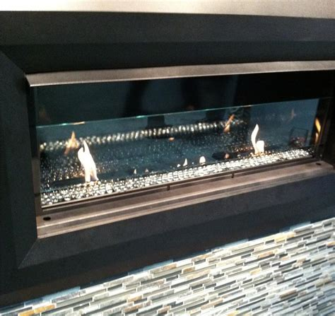 gas fireplace draft superior lv43ds linear vent free draft shield