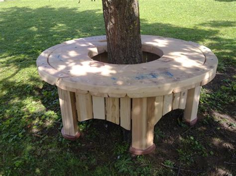 wire spool bench cable spool furniture