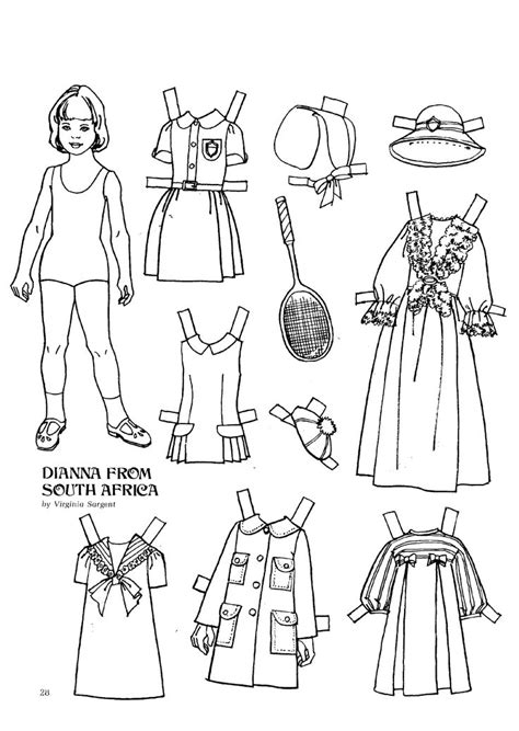 pattern tracing paper south africa 513 best paper dolls of past and present images on
