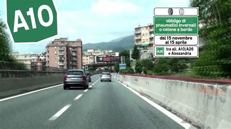 autostrada dei fiori it a10 genova voltri savona autostrada dei fiori