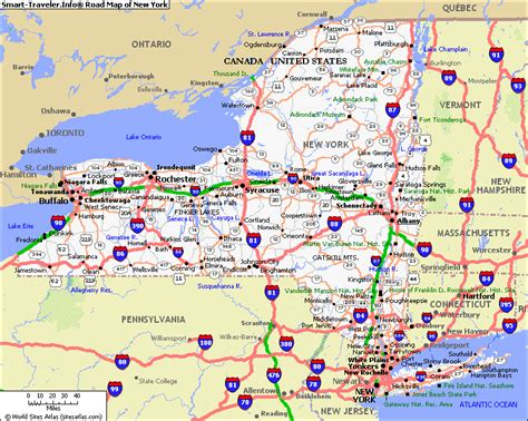 map of state of new york the gossip new york state map