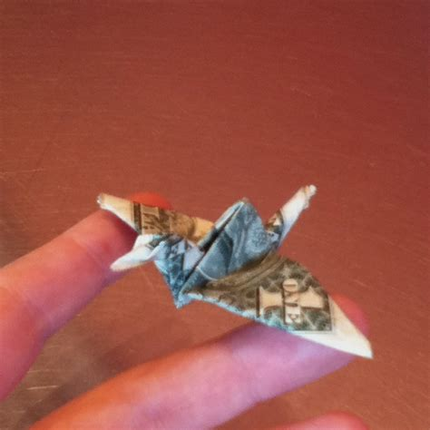 Origami Money Crane - 17 best images about money origami on