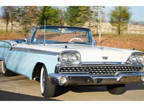 1959 Ford Fairlane by 1959 Ford Fairlane 500 For Sale Classiccars Cc 1048380