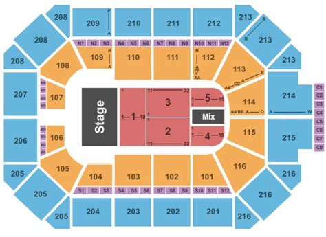 allstate arena seating chart a barry chicago tickets tue dec 5 2017