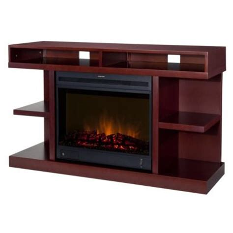 target fireplace tv stand target sutton cherry tv media stand console with