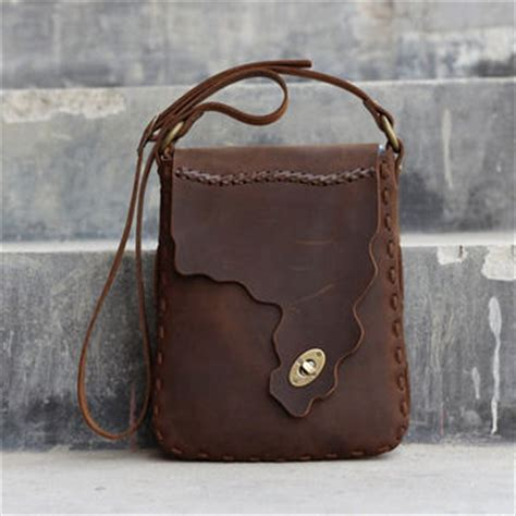 Handmade Leather Purses - shop handmade leather hip bags on wanelo