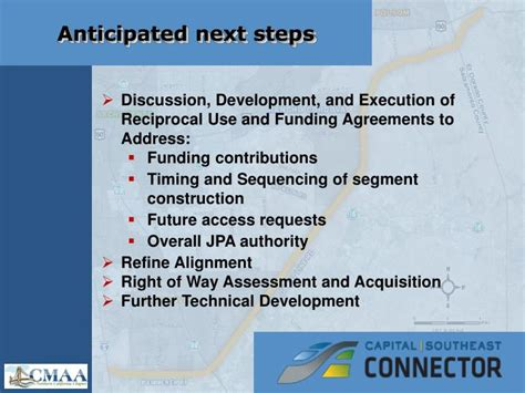 ppt presented by capital southeast connector joint ppt presented by capital southeast connector joint