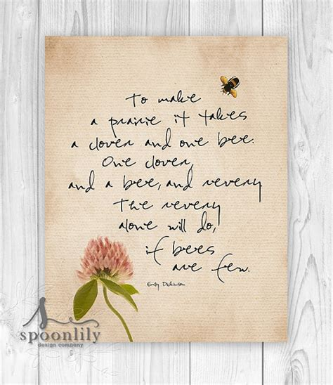 Wedding Quotes Emily Dickinson by Emily Dickinson Quote Typography Print To Make A Prairie