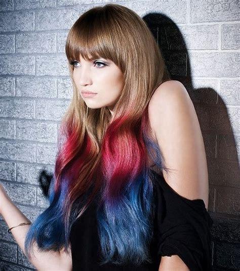 crazy hair color ideas hairstyle ideas magazine crazy colorful hair colour ideas for long hair 182 fashion