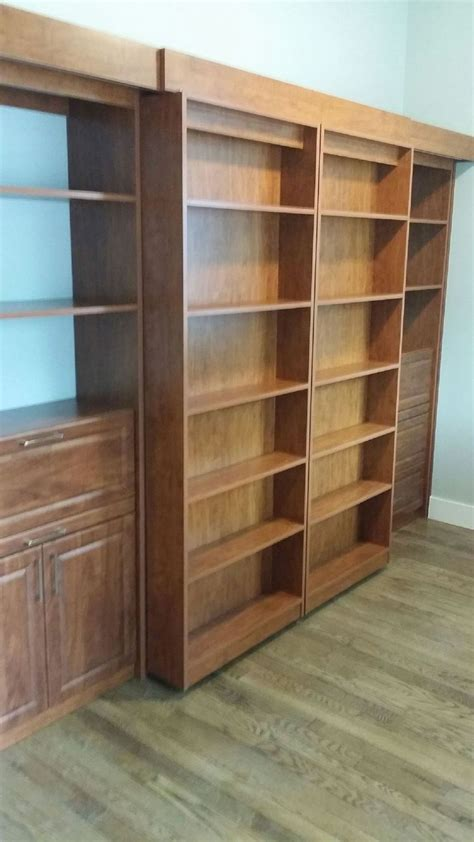sliding bookcase murphy bed custom murphy bed wall bed combinations maxwell s closet