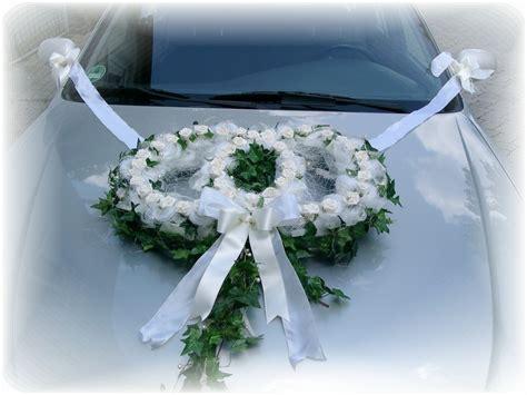Deko Hochzeit Auto by Autoschmuck Autodeko Hochzeit Autoringe Doppelringe
