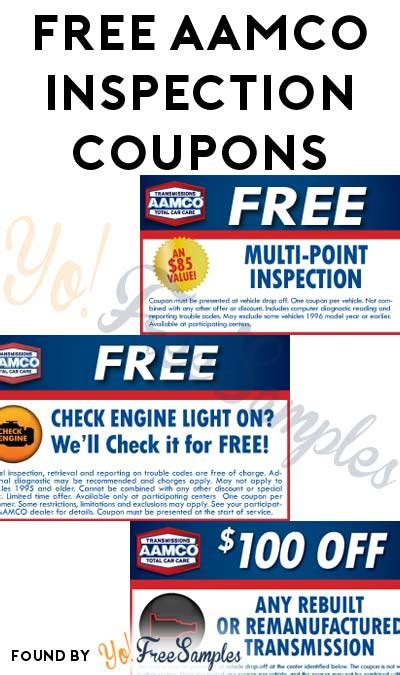 get engine light checked free free aamco check engine light or multi point inspection