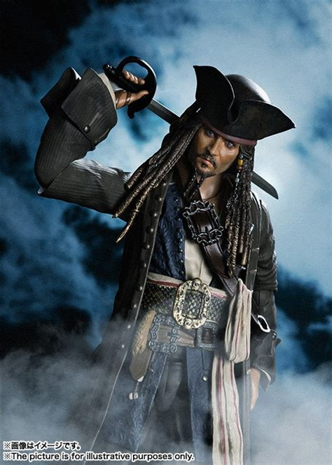 bandai s h figuarts pirates of the caribbean jack