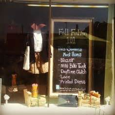 Especially For Thrifty Boutique 2 by Books Store Windows Back To School
